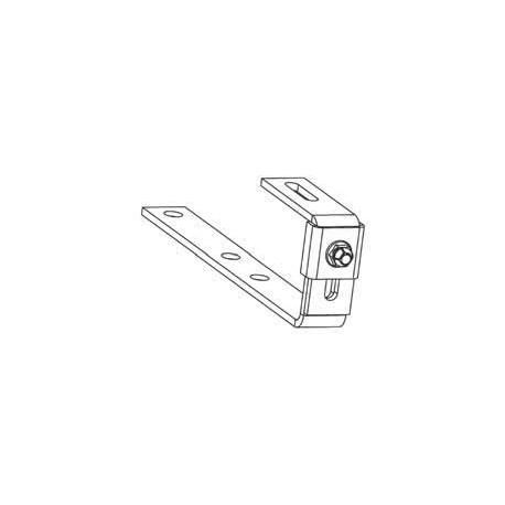 4 x haki wsporcze dla płytek płaskich (osłona) DAIKIN 164723