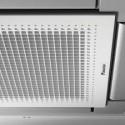 Panel dekoracyjny biały ze srebrnymi klapkami BYFQ60CS