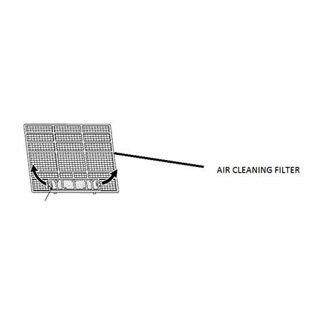Filtr enzymatyczny neutralizujący alergeny MAC-2330FT-E