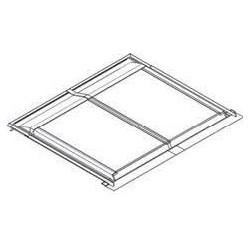 Zestaw instalacyjny do wbudowania w dach dla 2 x paneli pionowych DAIKIN 162019 dla EKSV26P