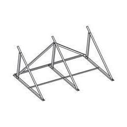 Zestaw dla dachu płaskiego dla 2 x paneli pionowych DAIKIN 162058  dla EKSV26P