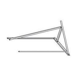 Zestaw rozszerzenia dla dachów płaskich dla 1 dodatkowego panelu poziomego DAIKIN 162061 dla EKSH26P